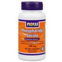 Now Foods Phosphatidyl Serine 100 Mg 60 Vegetable Capsules