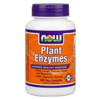 Now Foods Plant Enzymes 120 Vegetable Capsules
