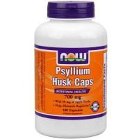 Now Foods Psyllium Husk 700 Mg + Pectin 180 Capsules