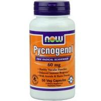Now Foods Pycnogenol 60 Mg 50 Vegetable Capsules