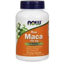 Now Foods Maca 750 Mg 90 Vegetable Capsules