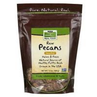 Now Foods Pecans Raw 12 Oz