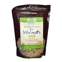 Now Foods Organic Walnuts Raw 12 Oz