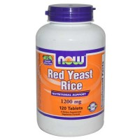 Now Foods Red Yeast Rice Extract 1200 Mg 120 Tablets