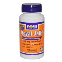 Now Foods Royal Jelly 1500 Mg 60 Capsules
