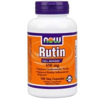 Now Foods Rutin 450 Mg 100 Vegetable Capsules
