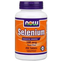 Now Foods Selenium 100 Mcg 250 Tablets