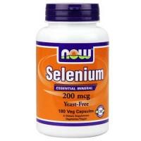 Now Foods Selenium 200 Mcg 180 Vegetable Capsules