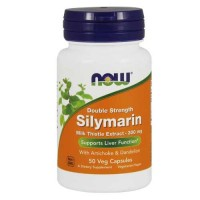 Now Foods Silymarin Milk Thistle 300 Mg 50 Vegetable Capsules