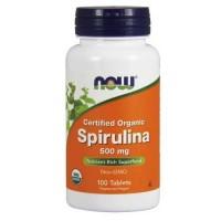 Now Foods Spirulina 500 Mg 100 Tablets