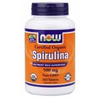 Now Foods Spirulina 500 Mg 200 Tablets