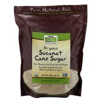 Now Foods Sucanat Organic 2 Lb