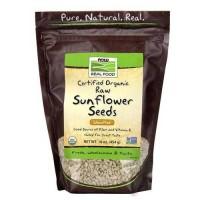Now Foods Organic Sunflower Seeds Raw 16 Oz