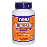 Now Foods True Calm Amino Relaxer 90 Capsules