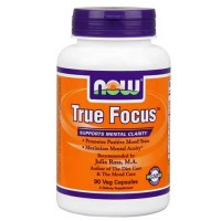 Now Foods True Focus 90 Vegetable Capsules