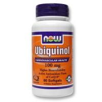 Now Foods Ubiquinol 100 Mg 60 Softgels