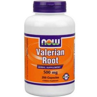 Now Foods Valerian Root 500 Mg 250 Capsules
