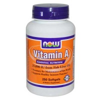 Now Foods A 25000 IU 250 Softgels