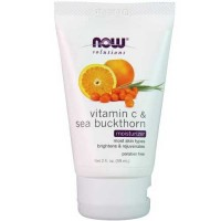 Now Foods Vit C & Sea Buckthorn Moisturizer 2 Oz