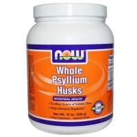 Now Foods Psyllium Husk Whole 1LB
