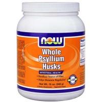 Now Foods Psyllium Husk Whole 12 Oz