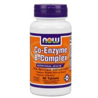 Now Foods Co-Enzyme B-Complex 60 Tablets