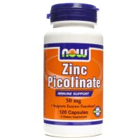 Now Foods Zinc Picolinate 50 Mg 120 Capsules