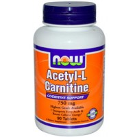 Now Foods Acetyl L-Carnitine 750mg 90 Tabs