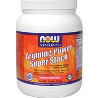 Now Foods Arginine Power Super Stack Tropical Punch Flavor 2.2 Lb