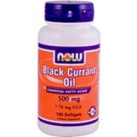 Now Foods Black Currant Seed Oil 500mg 100 Soft Gels