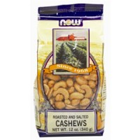 Now Foods Cashews Roasted and Salted 10oz