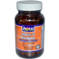 Now Foods Indole-3-Carbinol 200mg 60 Vege Caps