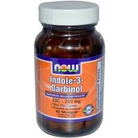 Now Foods Indole-3-Carbinol 200mg 60 Vege Caps