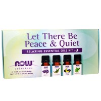 Now Foods Let There Be Peace & Quiet- Relaxing Essential Oils Kit