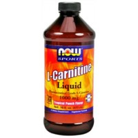 Now Foods Liquid L-Carnitine Tropical Punch Flavored 16 oz