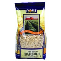 Now Foods Non-Instant Rolled Oats 22 oz
