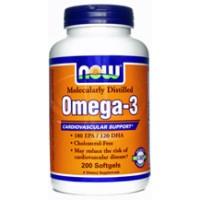 Now Foods Omega-3 1000mg 200 Gels