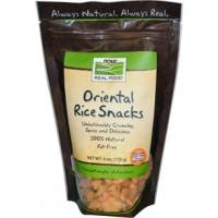 Now Foods Oriental Rice Snacks 6 oz