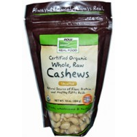 Now Foods Raw Cashews 12oz