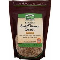 Now Foods Roasted, Salted Sunflower Seeds 16oz