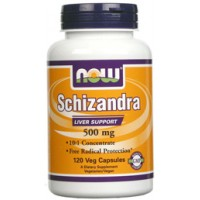 Now Foods Schizandra 500mg 120 Vege Caps