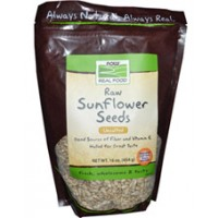 Now Foods Sunflower Seeds Raw Hulled Unsalted 16 oz