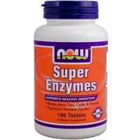 Now Foods Super Enzymes Supports Healthy Digestion
