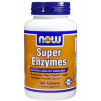 Now Foods Super Enzymes 180 Tabs
