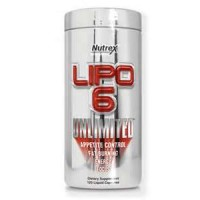 Nutrex Research Lipo 6 Unlimited 120 Liquid Caps