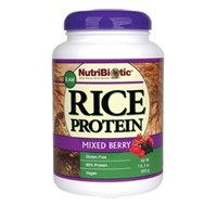 NutriBiotic Rice Protein (Vegan) Mixed Berry 600 Grams