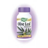 Nature's Way Olive Leaf Standardized 12% Oleuropein 60 Vege Caps