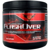 Omega Sports FlashOver Fiery Fruit Punch 252 Grams (45 Servings)