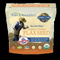Garden of Life Raw Organics Golden Flax Seed 14 Oz