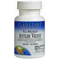 Planetary Herbals Antler Velvet (Full Spectrum) 250mg 30 Tabs